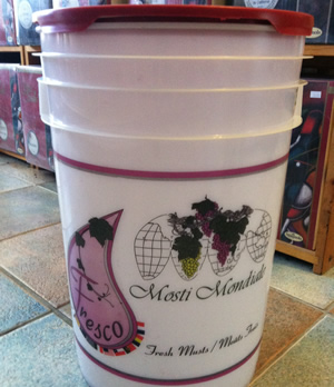 Mosti Pail Fresh Grapes & Juice